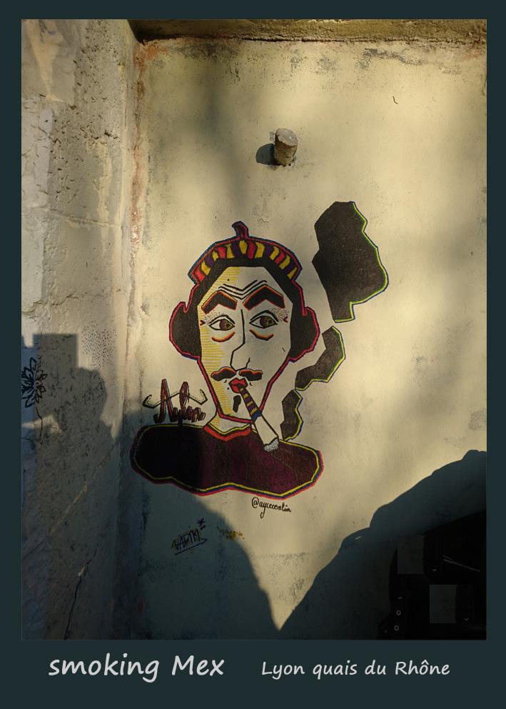 smoking Mex copie Street Art