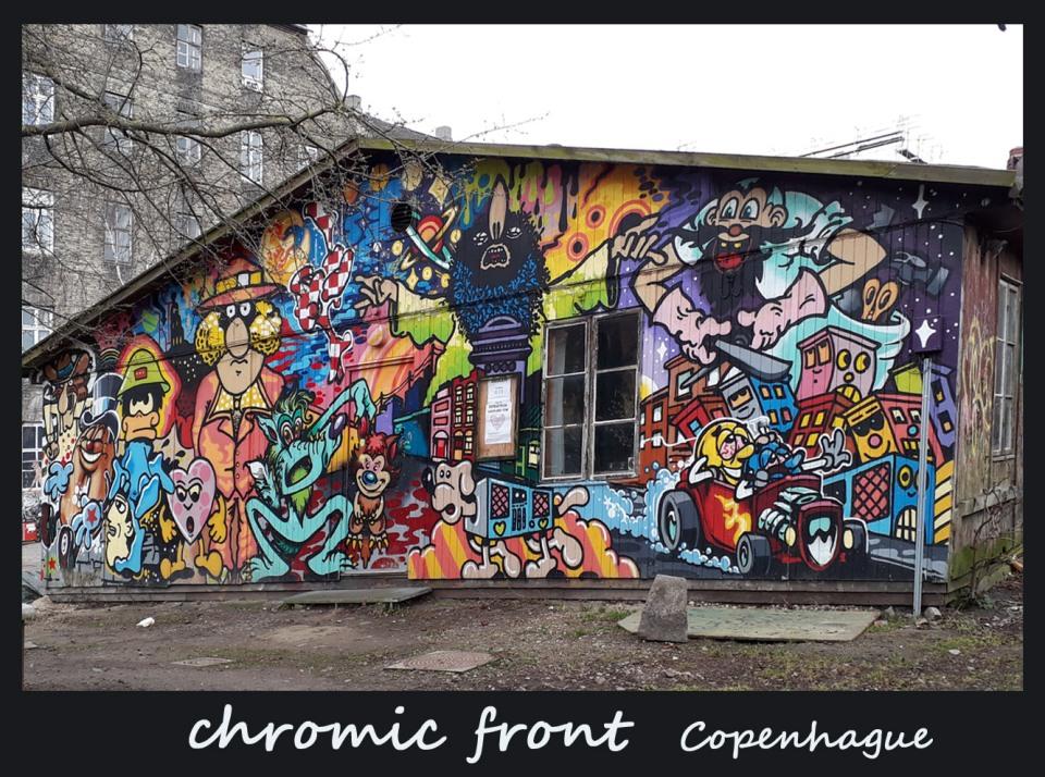 chromic front Street Art
