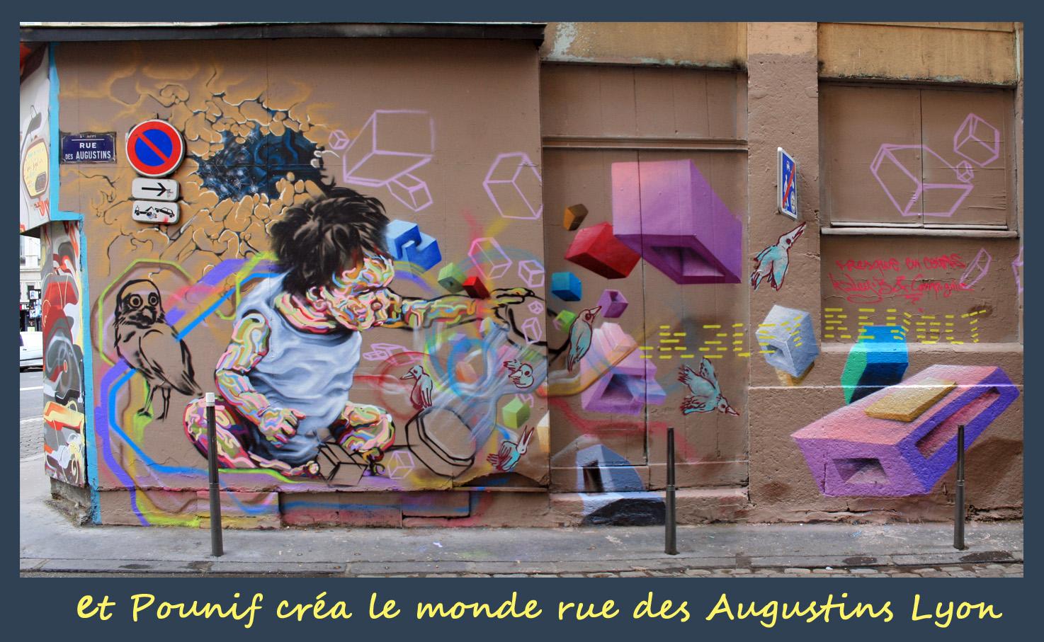 et Pounif Street Art